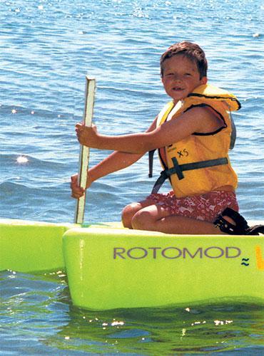 Activités nautiques pour les enfants