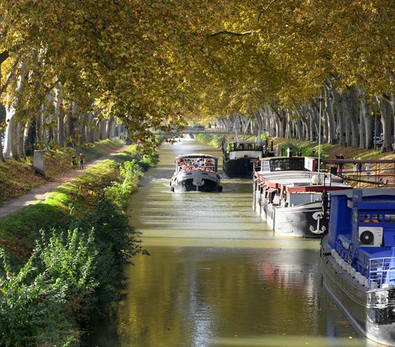 Balade sur le Canal de Brienne à Toulouse