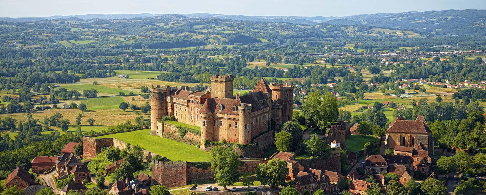 Château de Castelnau-Bretenoux dans le Lot