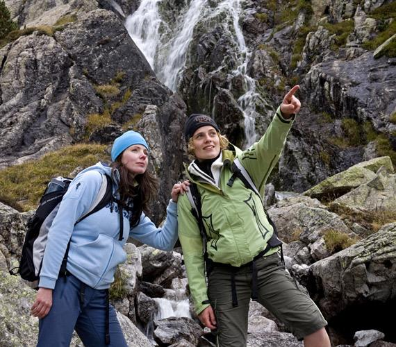 En chemin dans les Hautes-Pyrénées