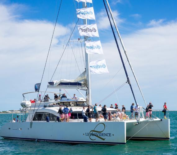 Excursion en catamaran au Grau du Roi