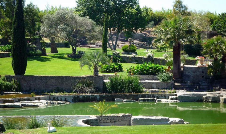 Jardins de Saint-Adrien dans l'Hérault