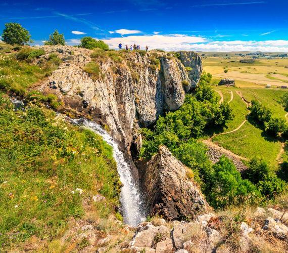 La cascade de Déroc