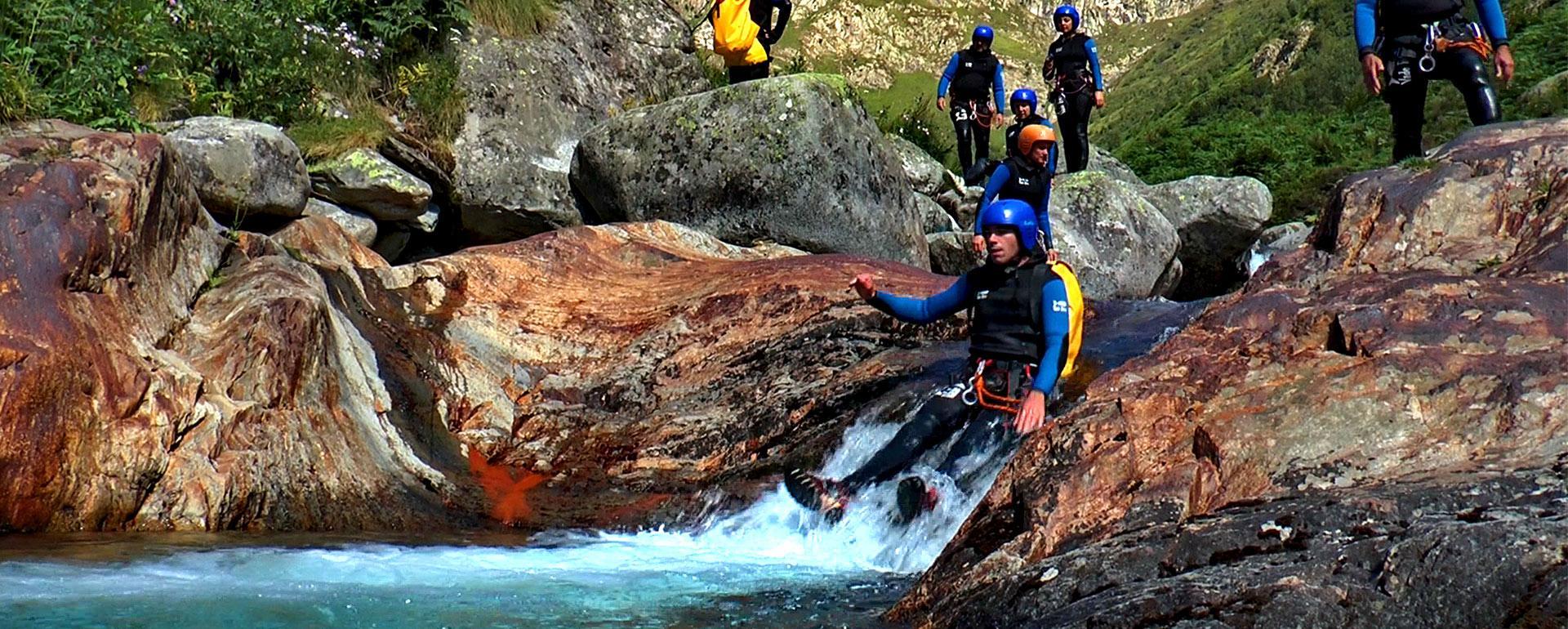 Le canyon de Marc en Ariège