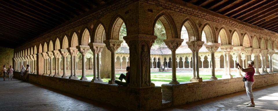 Cloître de l'abbaye de Moissac