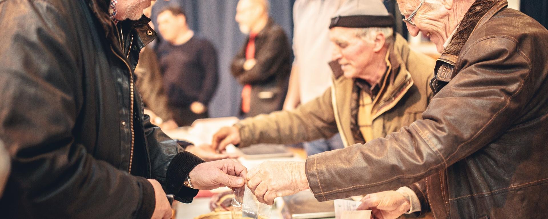 Le marché aux truffes de Villeneuve Minervois