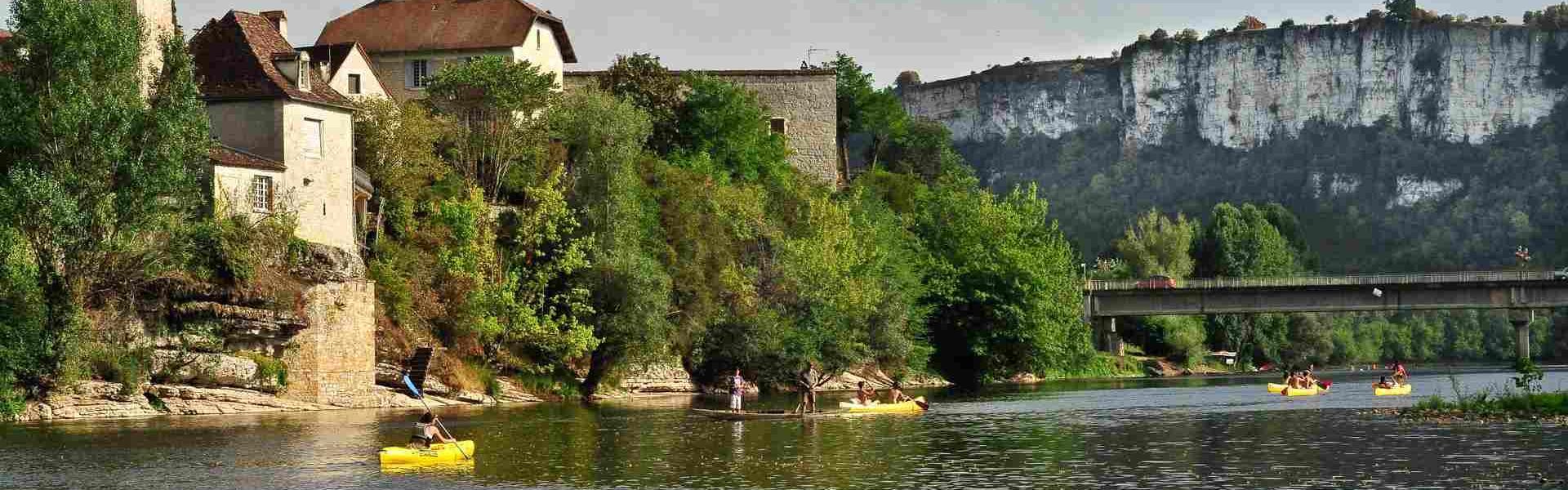 Canoe? a? Meyronne @Lot Tourisme