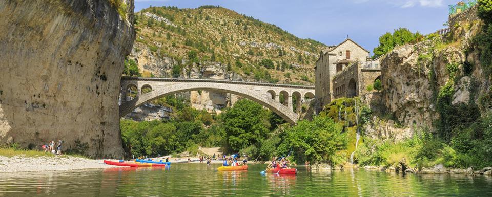 Canoë dans les Gorges du Tarn