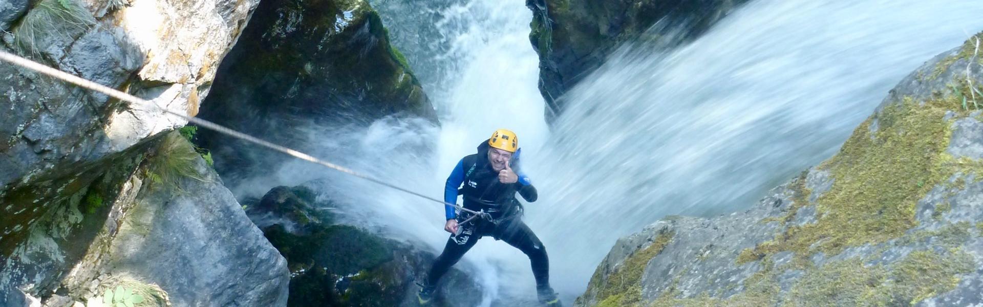 Canyon de Saugue dans les Hautes-Pyrénées