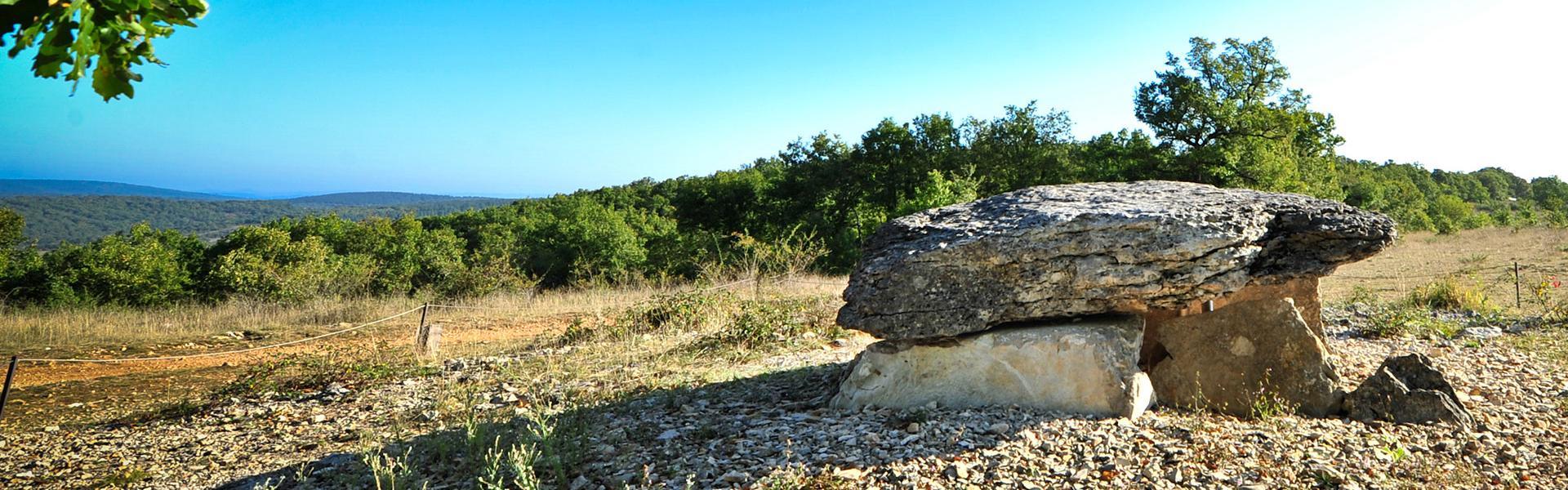 Dolmen de Pech Laglaire à Gréalou