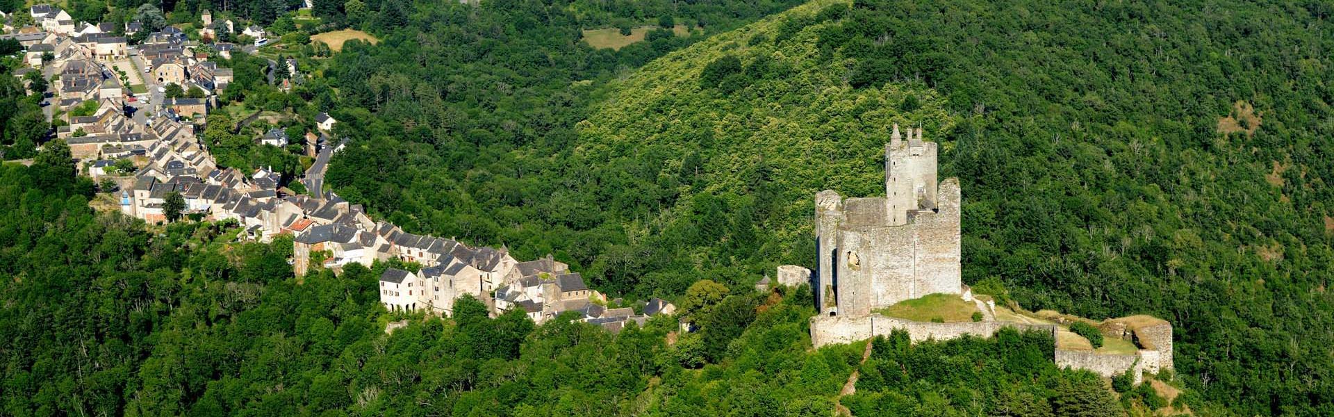 Forteresse de Najac en Aveyron