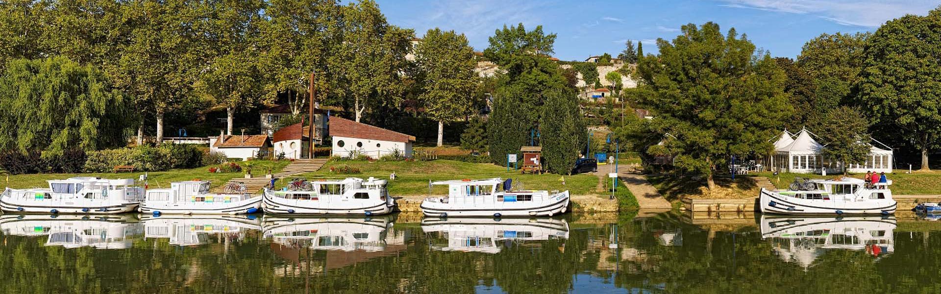 Halte nautique de Valence-sur-Baïse dans le Gers