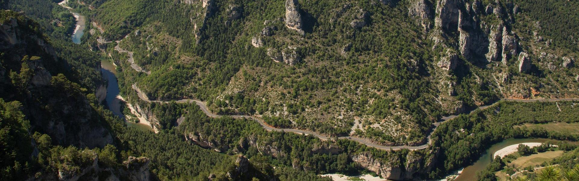 La route des Gorges du Tarn