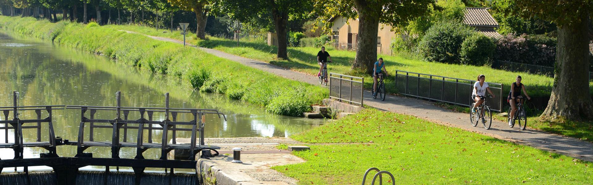 Le canal de Montech à Montauban