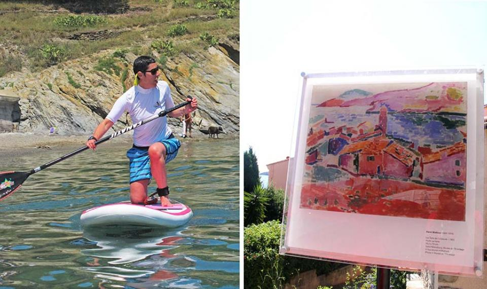 Chemin du fauvisme et stand up paddle