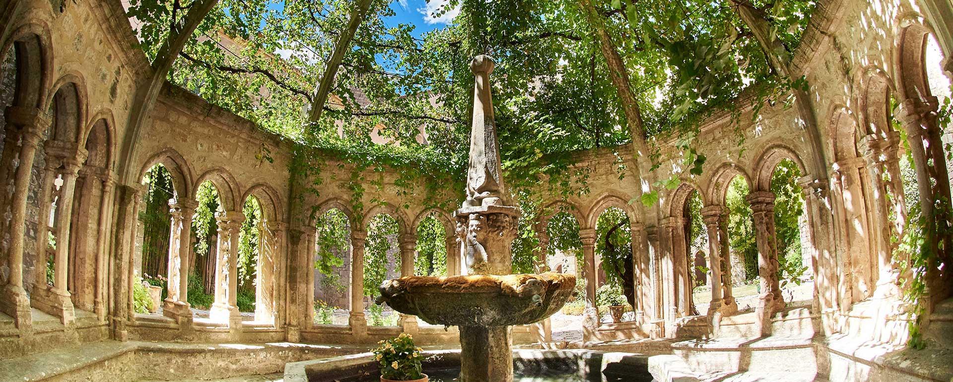 Abbaye de Valmagne © Hugo da costa