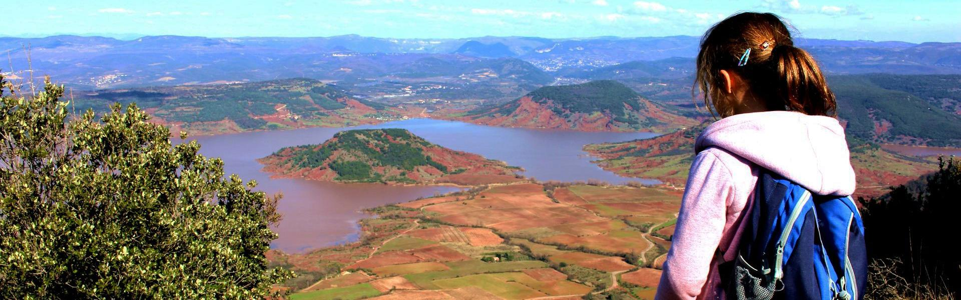 Expérience 34 - Mont Liausson - Vue sur le lac du Salagou - Hérault Tourisme