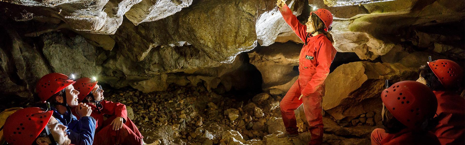 Exploration dans le ventre de l'Ariège