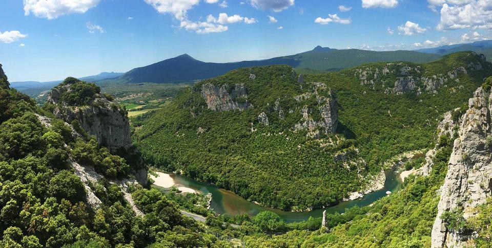 Experience 34 - Les gorges de l'Hérault - Falaises du Thaurac