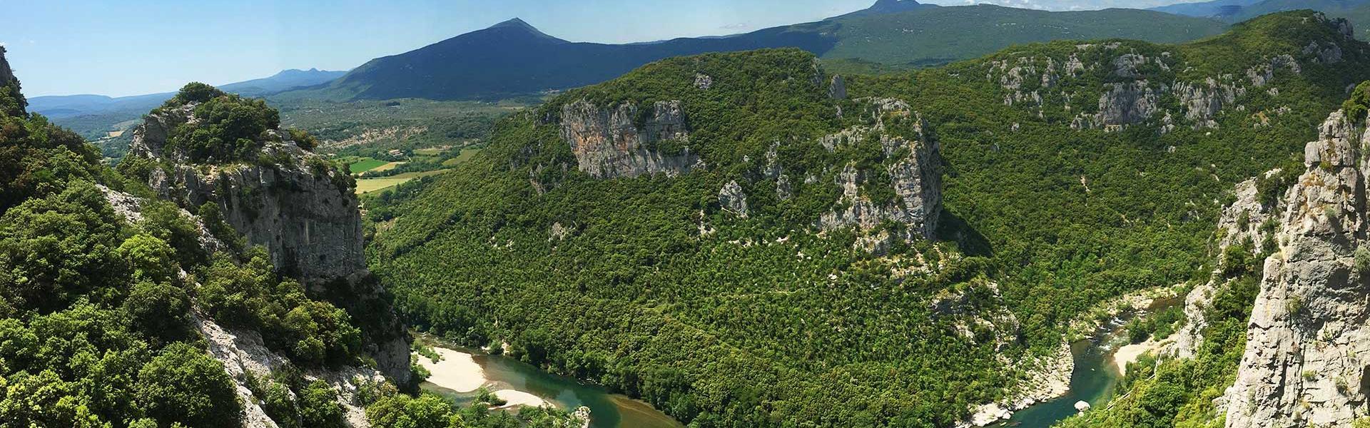Les gorges de l'Hérault - Falaises du Thaurac