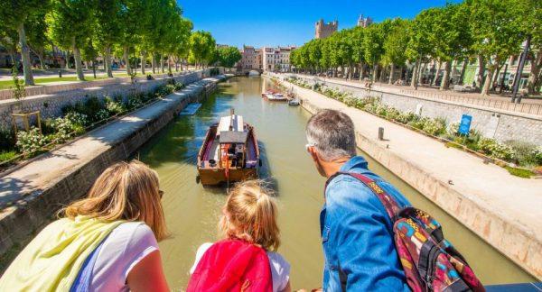 Narbonne Canal de la Robine