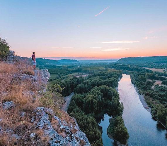 Point de vue en Vallée de la Dordogne