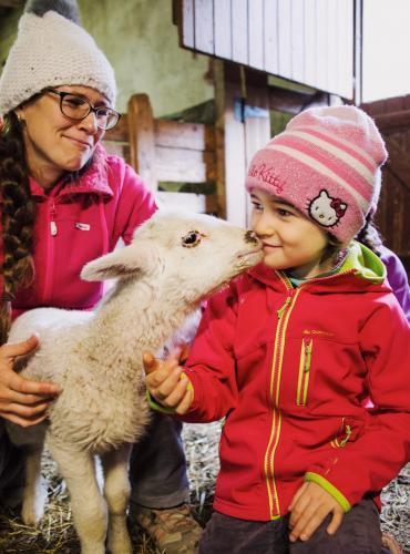 Visite a? la ferme dans les Hautes-Pyrénées