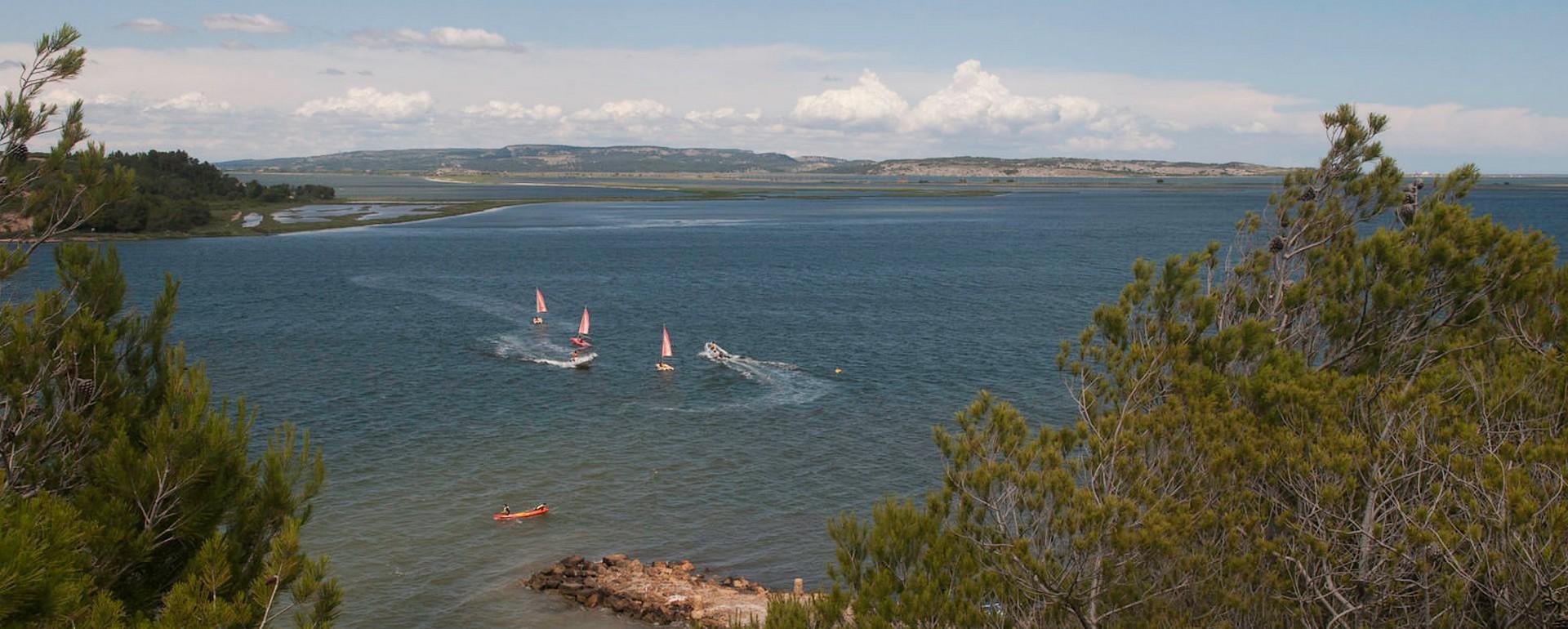 La lagune de Sigean