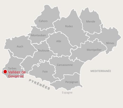 Expérience Hautes-Pyrénées - Cartographie Vallees  de Gavarnie