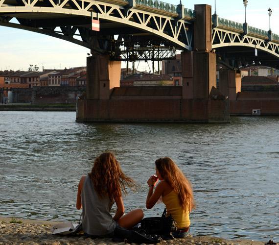 Les quais de Garonne à Toulouse