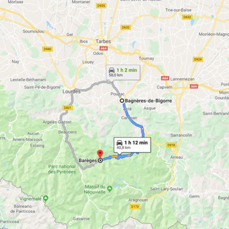 De Bagnères vers Barèges