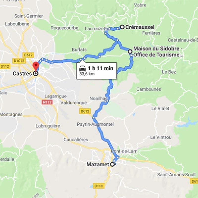 De Mazamet à Castres