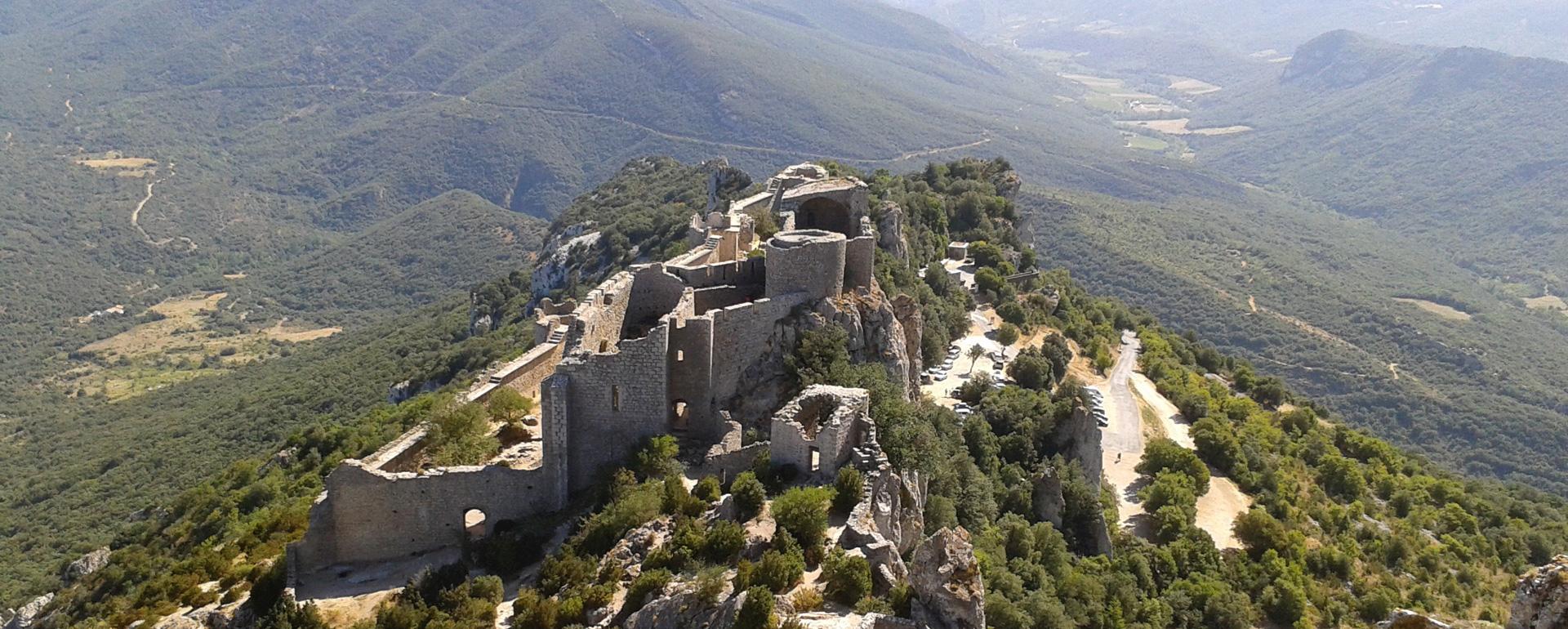 Château de Peyrepertuse - Aude