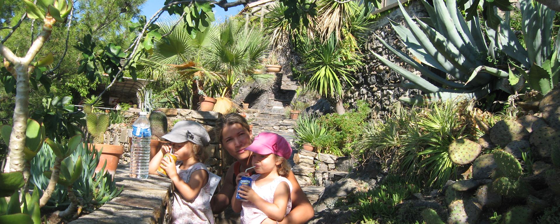 Jardin Méditerranée de Roquebrun