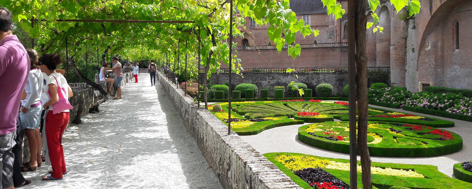 Jardins du Palais de la Berbie - Albi - Tarn