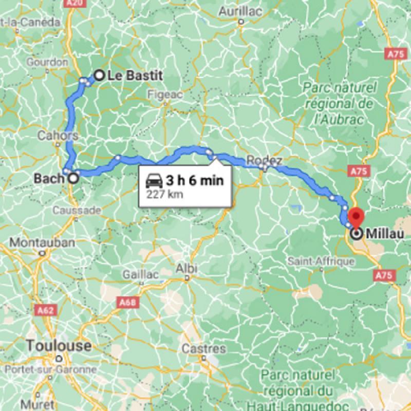 Le Bastit vers Millau