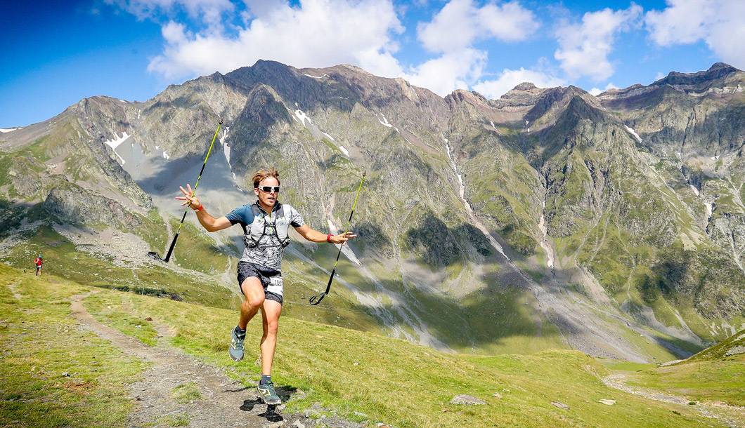 Trail dans les Pyrénées