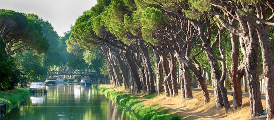 Canal du Midi - Salle?le d'Aude