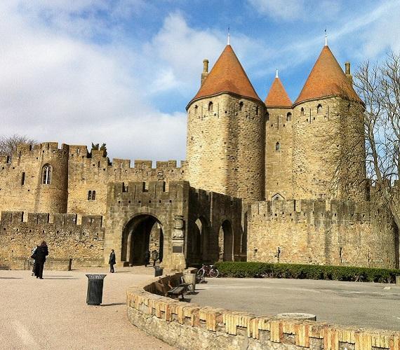 Carcassonne, la Porte Narbonnaise