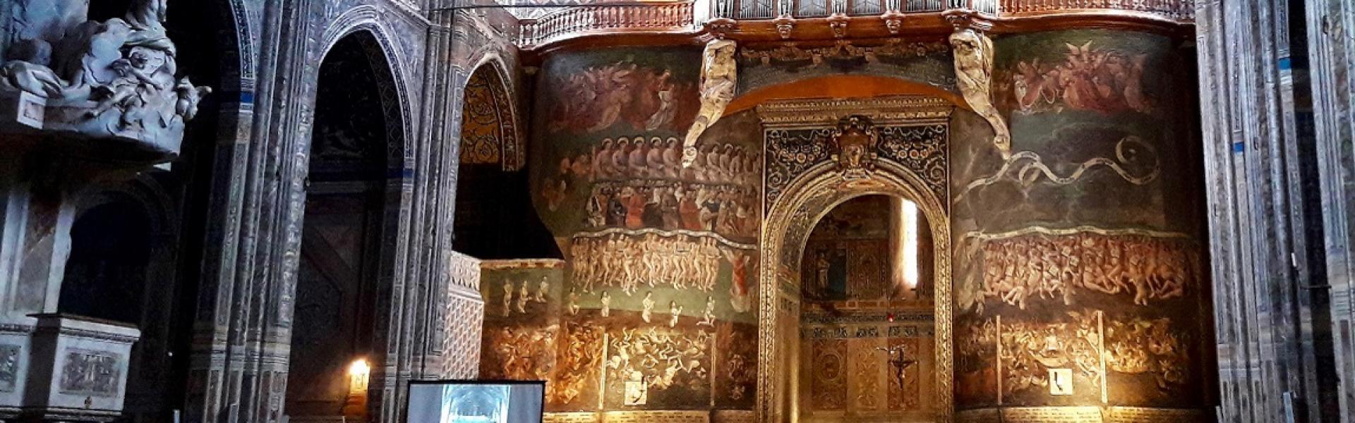 Cathédrale Sainte-Cécile d'Albi, le Jugement dernier