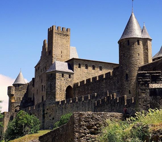 Cité de Carcassonne, la château comtal