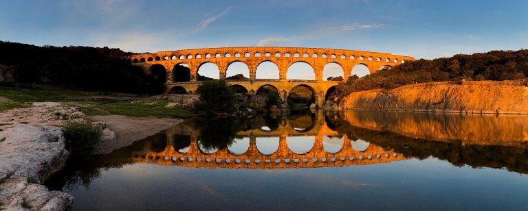 Le Pont du Gard, site Unesco en Occitanie