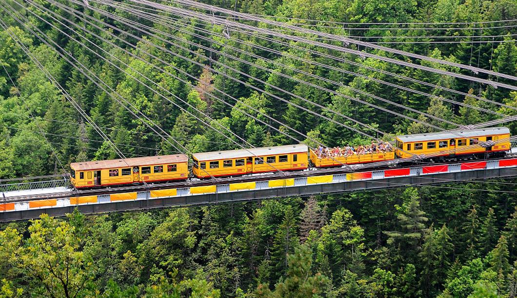 Train Jaune - Parc naturel des Pyrénées Catalanes - Pyrénées-Orientales