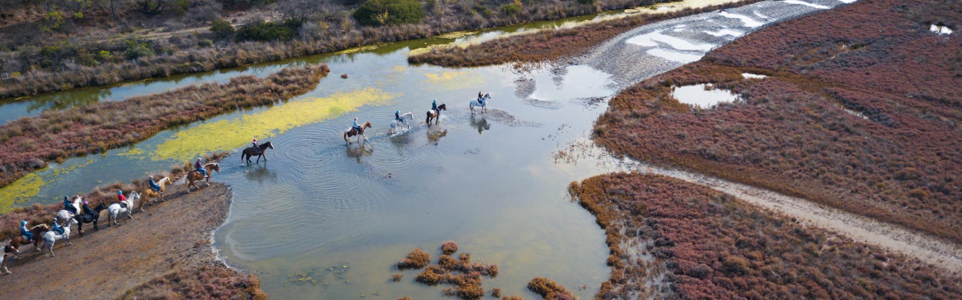 Balade a cheval ©Christelle LABRANDE