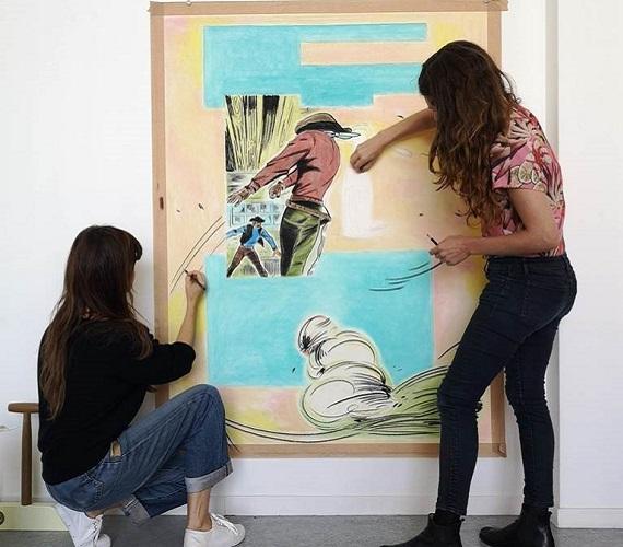 Le duo Hippolyte Hentgen au centre d'art Le Lait d'Albi