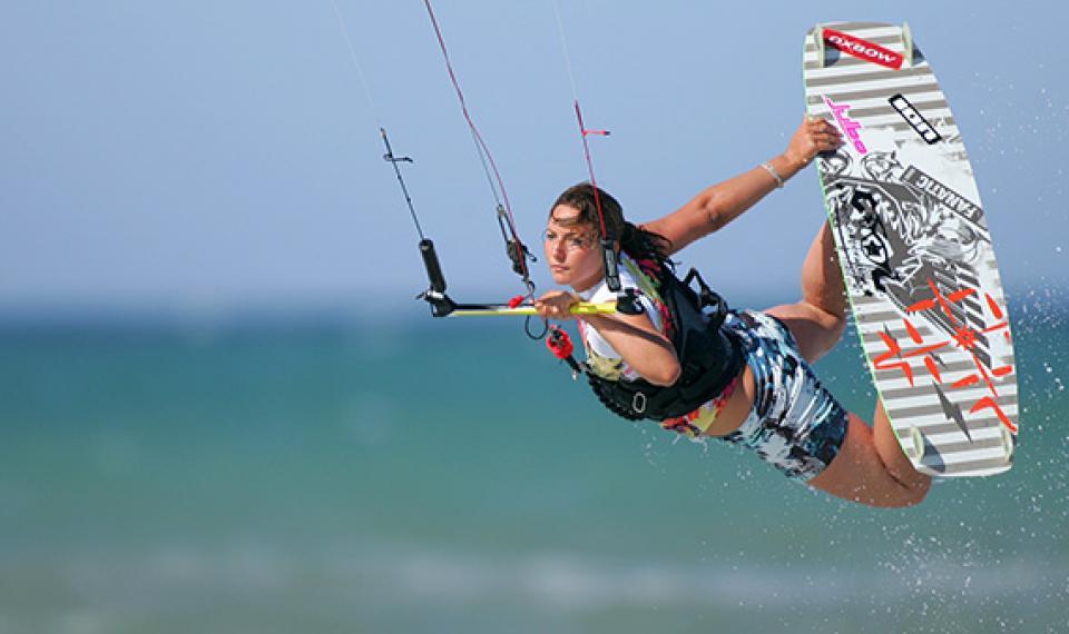 Le kite, un sport dans le vent !