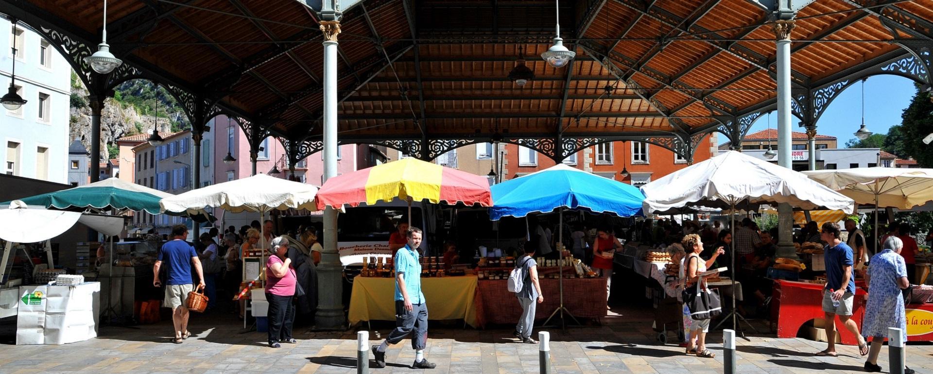 Le marché de Foix