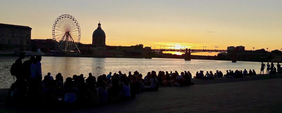 Toulouse - Quais de Garonne
